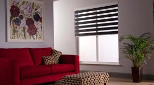 Duo/ Duplex blind in lounge