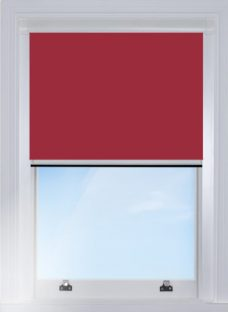 0017-010-Gooseberry-blocout edge fitted blind with white side rails