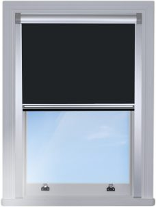 0017-015-raven-blocout blind edge fitted with silver side rails