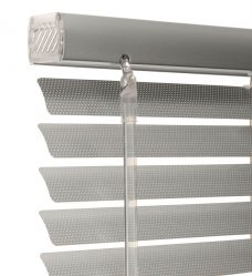 Mirage Mercury 0058P Perforated Venetian blind 25 mm close up