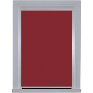 0119 Plum Blocout Blind in closed position