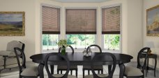 Three Coffee 0259 Venetian Blinds 25 mm fitted in a lounge