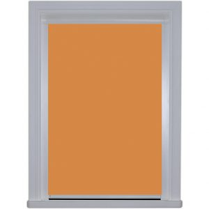 0424 Amber Sunset Cassette Blackout Roller blind edge fitted