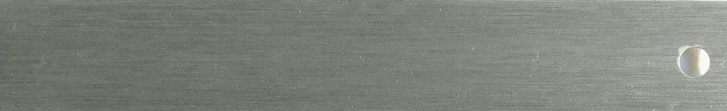 Brushed Silver 0950 Venetian Blind Slat 25 mm slat