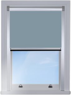 917149-0231-Soft-sky-Blocout Blind edge fitted with silver side channels