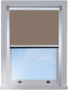 7149-0671-Turf-BlocOut blind edge fitted with silver side rails