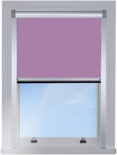 RF-Berlin 5838 Lavender Mist Blocout edge fitted with silver side rails