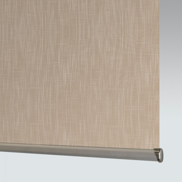 Shantung Champagne Roller Blind close up