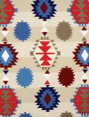 Aztec Multi Roman Blinds Fabric
