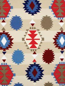Aztec Multi Roman Blind Fabric
