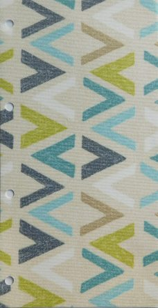 Azzura Aqua Blind fabric