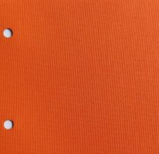 Banlight Mandarin - A plain weave in a mandarin orange fabric