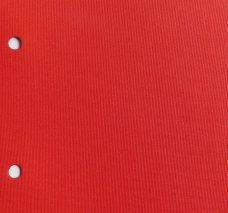 Banlight Duo Scarlet- A plain weave in a bright red fabric