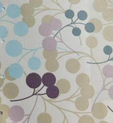 Burst Grape Blind fabric
