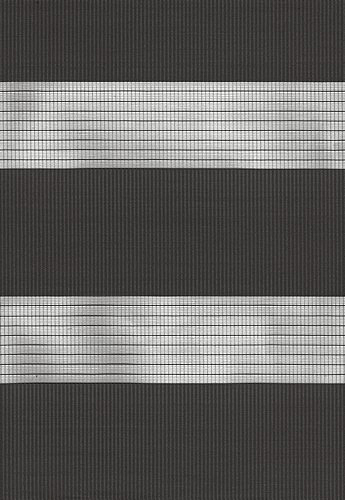 Capri Grey Duplex Blind fabric