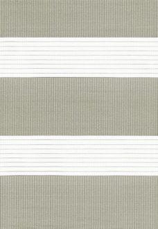 Capri Ivory Duplex Blind fabric