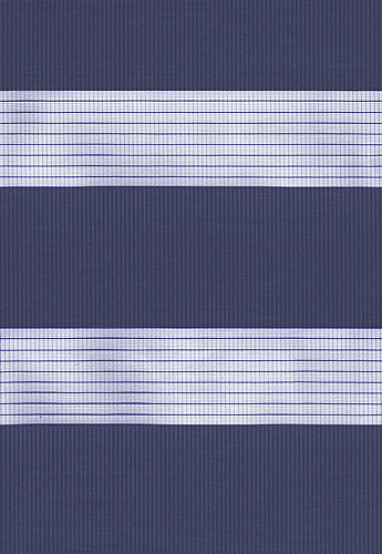 Capri Navy Duplex Blind fabric
