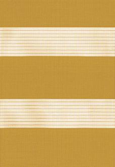 Capri Ochre Duplex Blind fabric