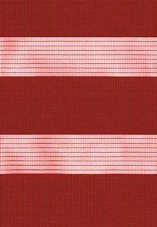 Capri Scarlet Duplex Blind fabric