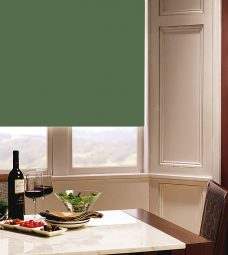 Carnival Ivy Roller Blind in a dining room