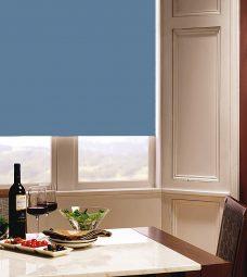 Carnival Sky Roller Blind in dining room setting