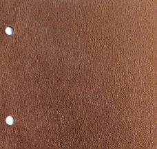 Chancery Chocolate - A faux suede fabric in mid brown chocolate colour