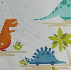 Dino Valley blinds fabric