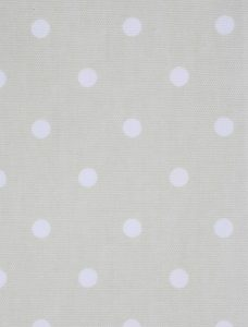 Dot To Dot Eggshell Roman Blind fabric