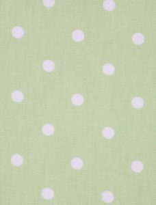 Dot To Dot Green Tea Roman Blind fabric