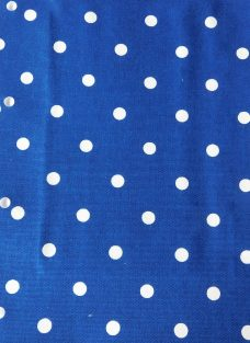 Dot To Dot Royal Roman Blind fabric