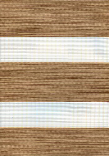 Florence Oak Duplex Blind fabric