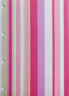 Funky Stripe Candy roller blind fabric