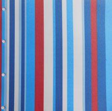Funky Stripe Sky roller blind fabric