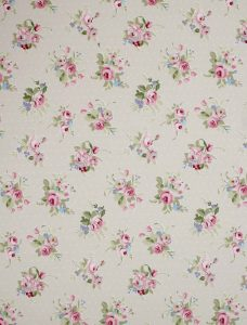 Jessamy Blossom Roman Blind fabric