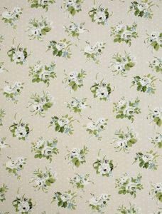 Jessamy Leaf Roman Blind fabric