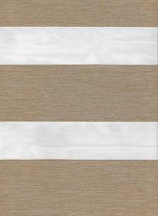 Milan Sand Duplex Roman Blind fabric