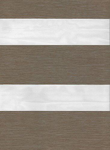 Milan Taupe Duplex Roman Blind fabric