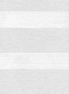 Milan White Duplex Blind fabric
