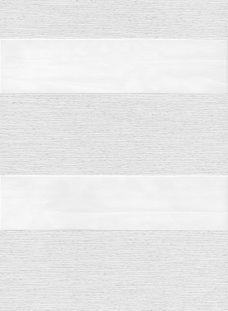 Milan White Duplex Blind fabric
