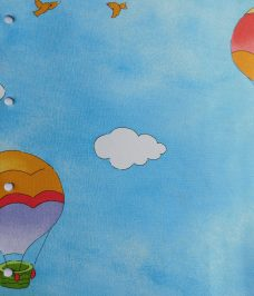 Nursery Rhymes Roller Blind fabric