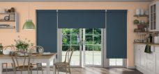 Three Palette Amazon Roller Blinds in a Kitchen