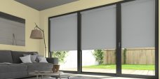 Palette Grey Blinds in a lounge
