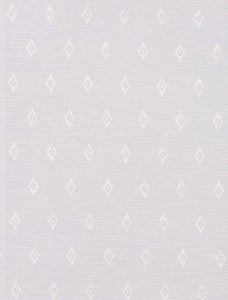 Robin White Roman Blind fabric