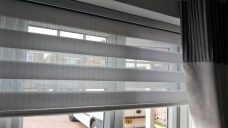 Venice Silver Duplex Blind close up
