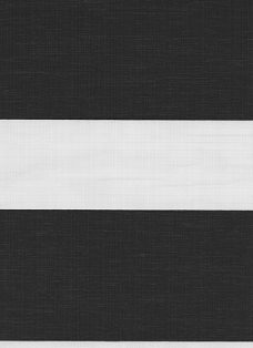 Verona Black Duplex Blind fabric