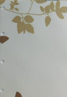 Vine And Butterfly Sable Roller Blind Fabric