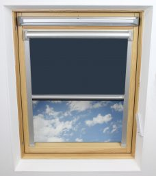 0017-009-Fishermans Blue Solar Skylight Blind