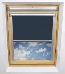 0017 009 Fisherman's Blue Solar Skylight Blind