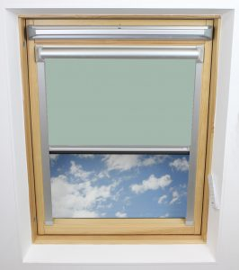 0017 020 Duck Egg Solar Skylight Blind
