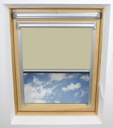 0017 002 Bog Cotton Velux Solar Skylight Blind